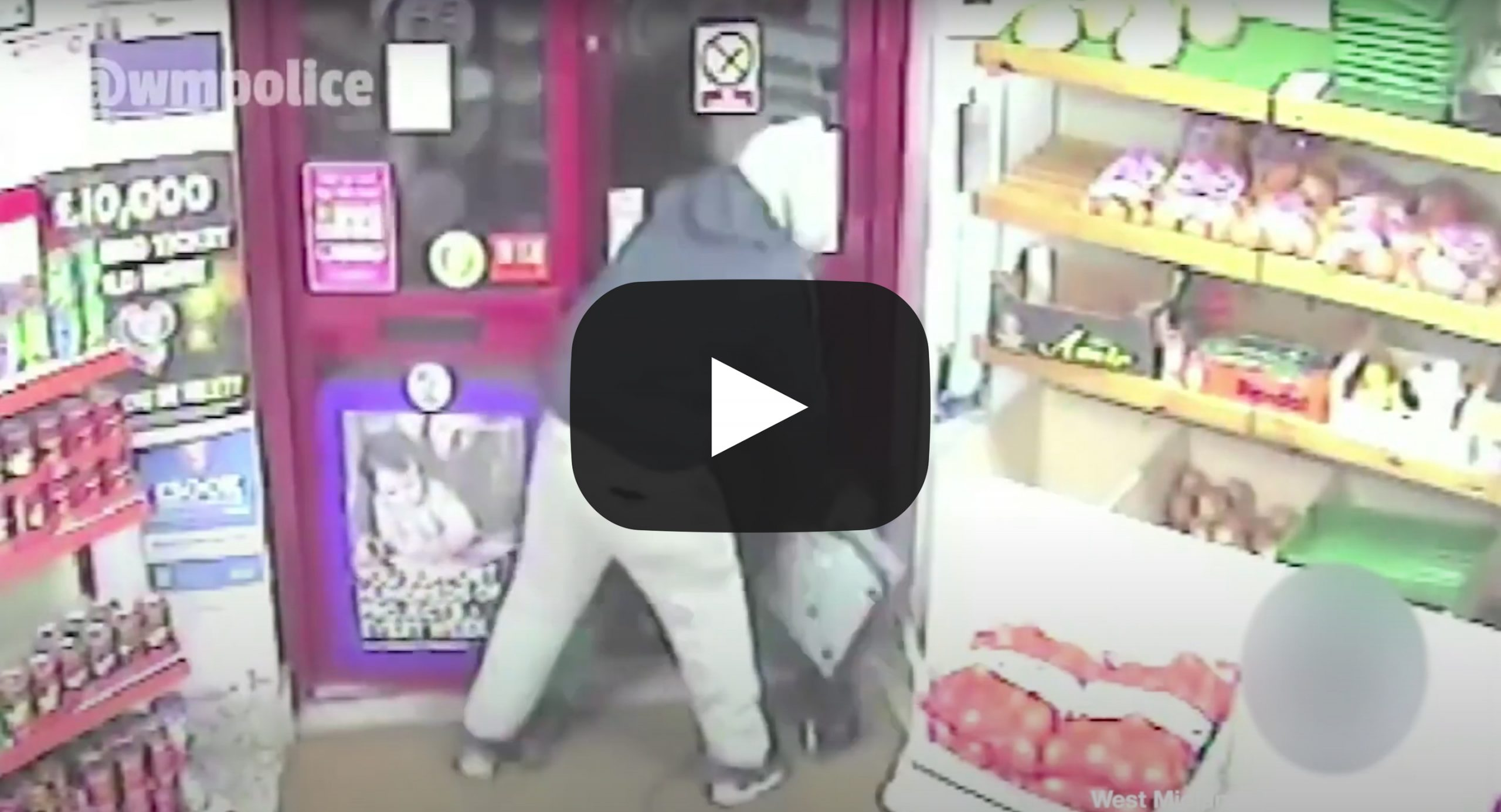 Silly Burglar of the Month – July